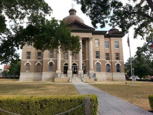 Hay County Court House, San Marcos, Texas