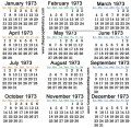 Positively out of Sight: Fun Facts & Trivia About the Year 1973