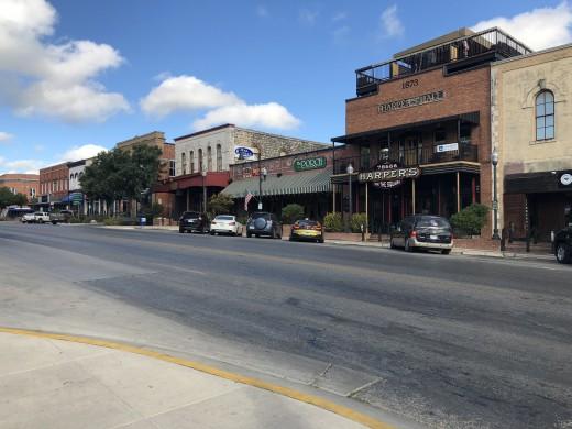 San Marcos, Texas Town Square