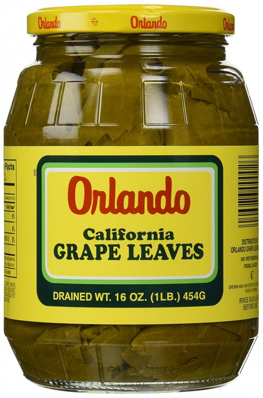 My personal favorite brand of grape leaves