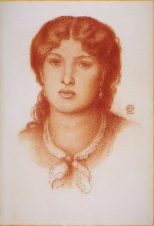 Fanny Cornforth circa 1868