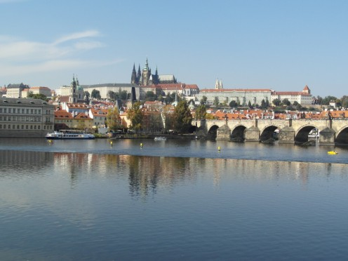 A River View of Prague