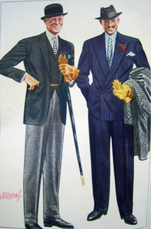 1930s mens clothing hairstyles