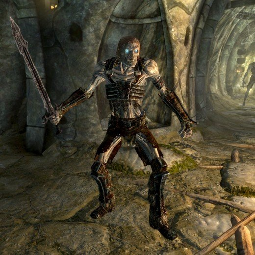 Skyrim Character Build The Happy Orc Necromancer Levelskip