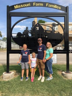 Steve Kallenbach Family Missouri State Fair Farm Family of the Year