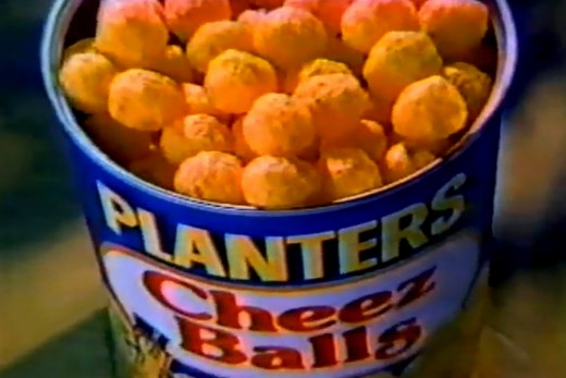 Planters Cheez Balls were another crowd-pleaser in 2003.