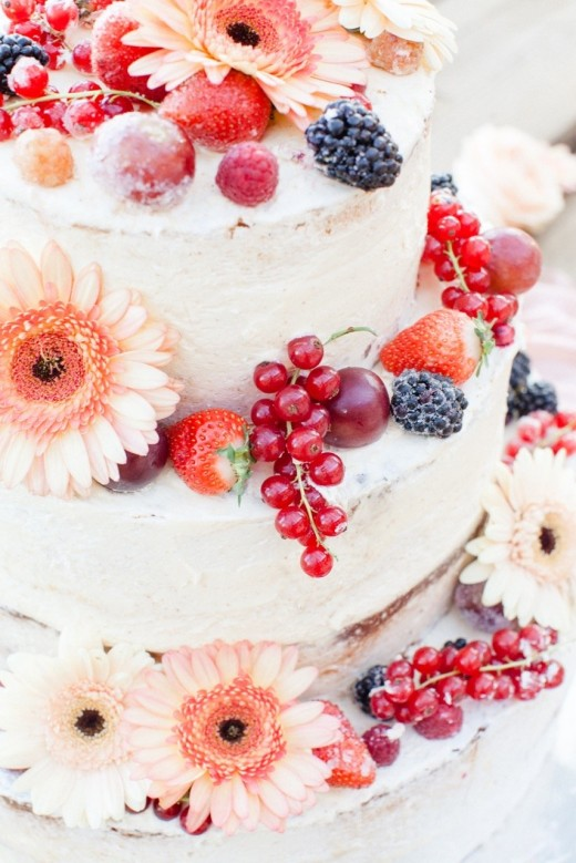 Berries are a perfect addition to your cake to give it just the right patriotic touch