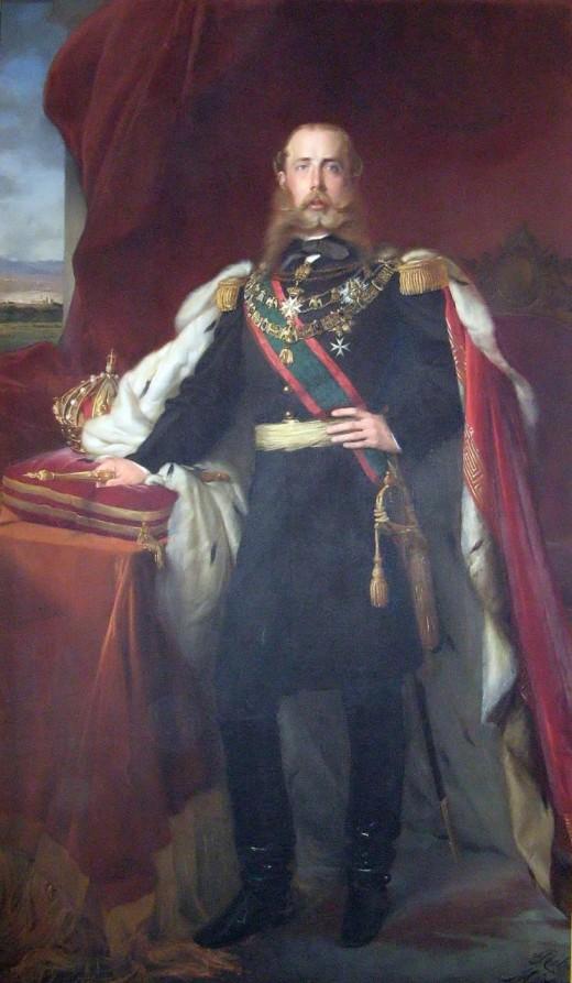 Emperor Maximilian of Mexico, a Hapsburg archduke who became emperor of Mexico.