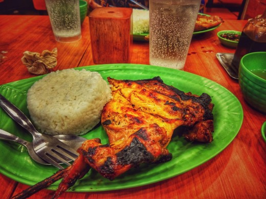 Famous Rice and Chicken offered by Mang Inasal