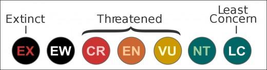 IUCN Red List Categories