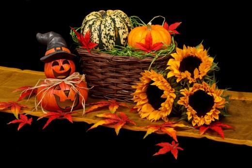 Beautiful October Decor
