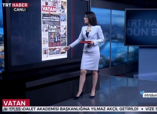 The Turkish used in the media is virtually identical to the Turkish used in daily life.