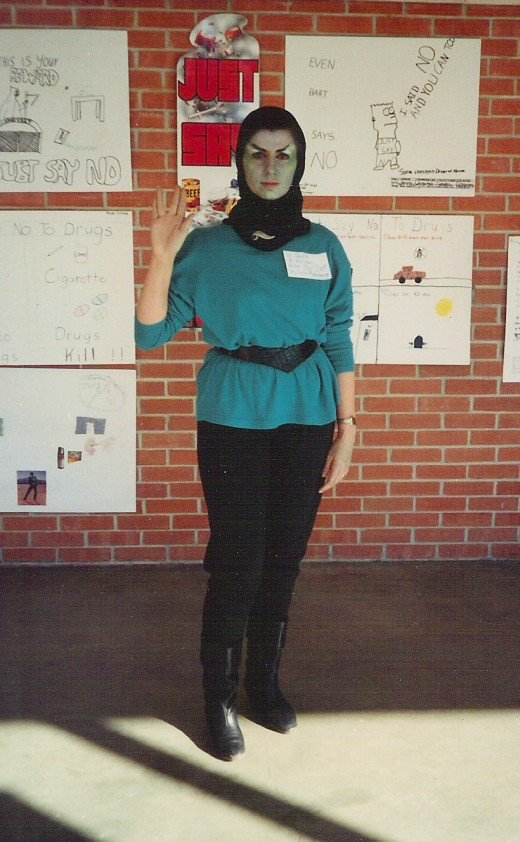 Live Long and Prosper - Vulcan Costume Using Mix and Match Knit Outfit