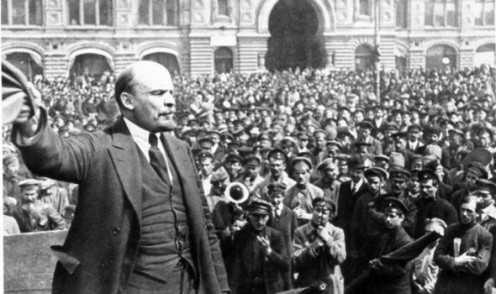 Lenin as the head of government of Soviet Russia (1917 to 1924)