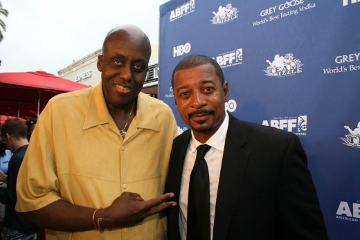 Bill Duke with fellow Actor/Director ~ Robert Townsend