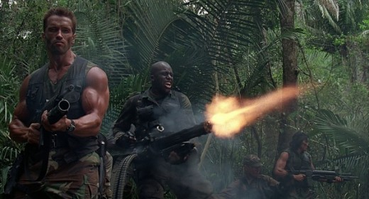 Bill Duke kicking butt with Arnold Shwarzenegger in 'Predator'