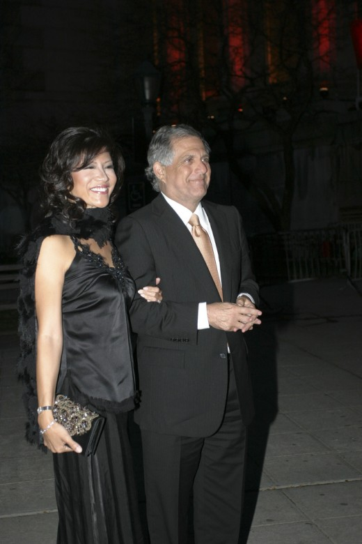 Julie Chen, 48, and Leslie Moonves, 68