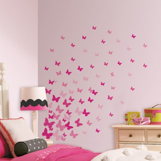 Imagine your daughters delight when you add this to her wall.