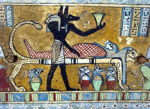 The next time you have an operation, take time to thank the Egyptians for passing on their knowledge of the human body.  These gains were made because it was a part of their belief system.