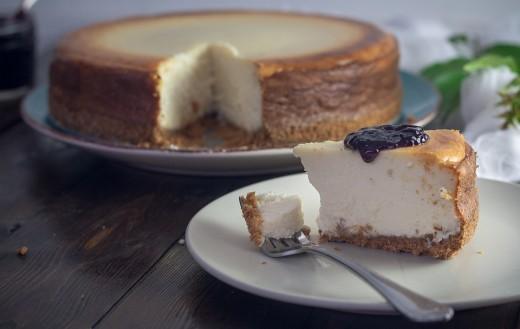 Beautiful, wonderful cheesecake