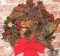 Natural Christmas and Bird Wreaths to Brighten the Season