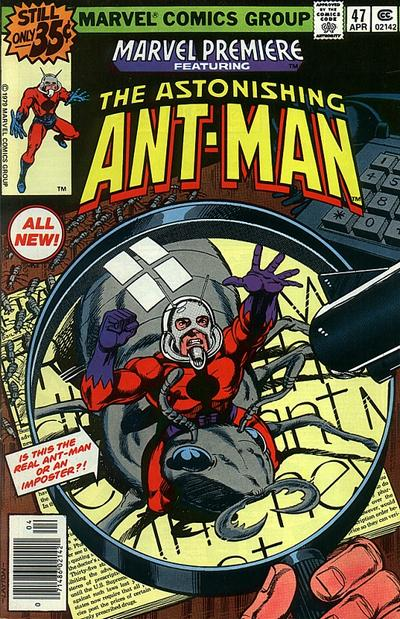 1st appearance of Cassie Lang in comics - Marvel Premiere #47. Also debuts Scott Lang as Ant-Man.
