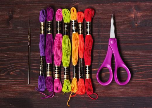Get prepared to stitch