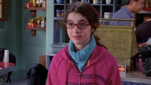 Vanessa Marano as April Nardini, Luke's daughter.