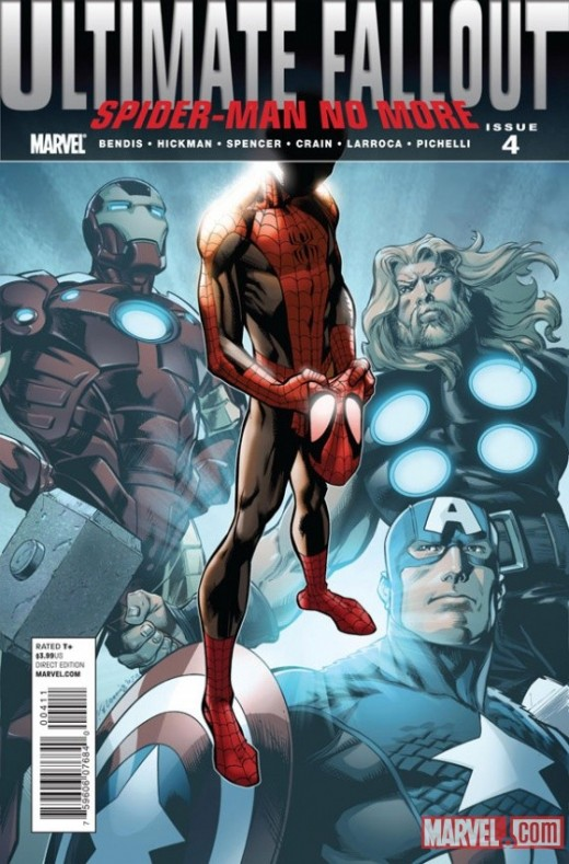 Ultimate Fallout Comics #4 - 1st Miles Morales Ultimate Spider-Man