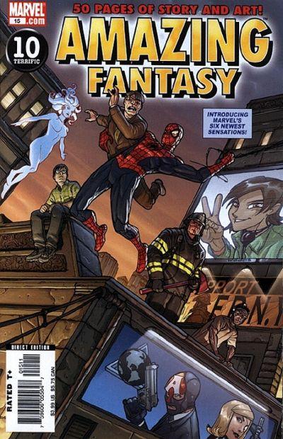 Amazing Fantasy #2 vol 2 - 1st appearance of Amadeus Cho