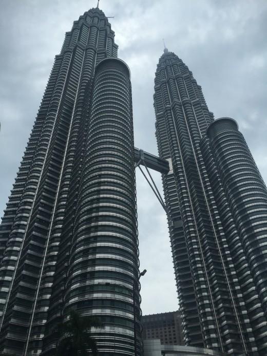 Kuala Lumpur, Petronas twin towers.