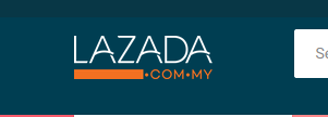 Lazada an online Malaysian shopping site.