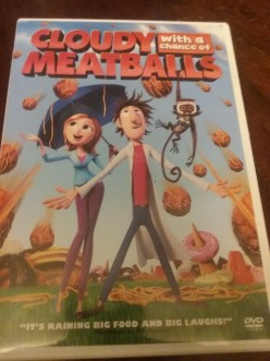 Movie Review of Cloudy With a Chance of Meatballs the movie