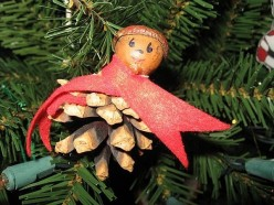 Make a Pine Cone Pixie Ornament