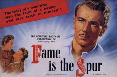 Cover of British pressbook for this movie