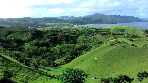 One of the rolling hills of Batanes