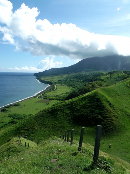A breathtaking view of the Vayang Rolling Hills, Batanes.