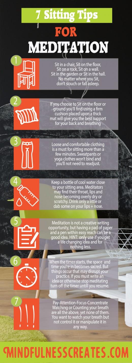 7 Tips For Sitting Meditation