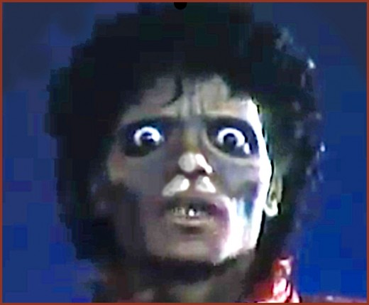 """Many of our top entertainers over the years have died from both legal and illegal drugs.  Here are eight celebrities who died from opioid and prescription drug overdoses. Michael Jackson, seen here in his """"Thriller"""" music video is one of them."""