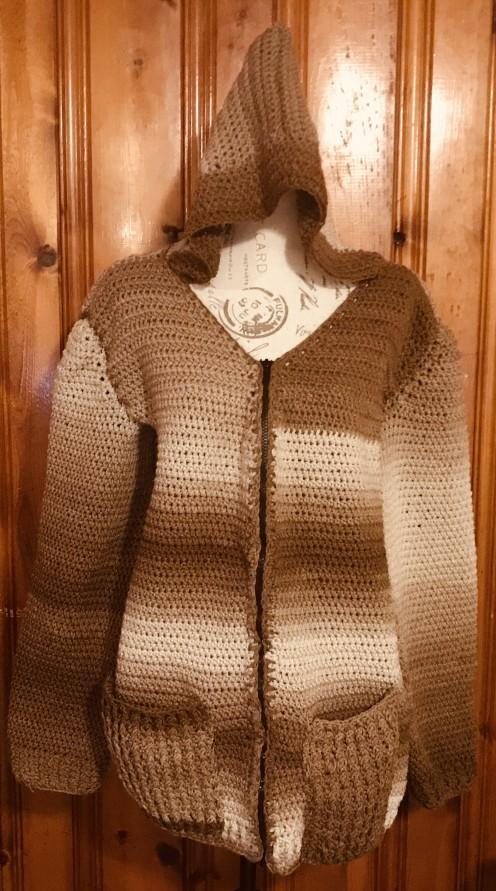 Crocheted Jacket for Men