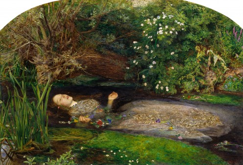 The Painting That Almost Claimed a Frail Beauty:  Milliais's Ophelia