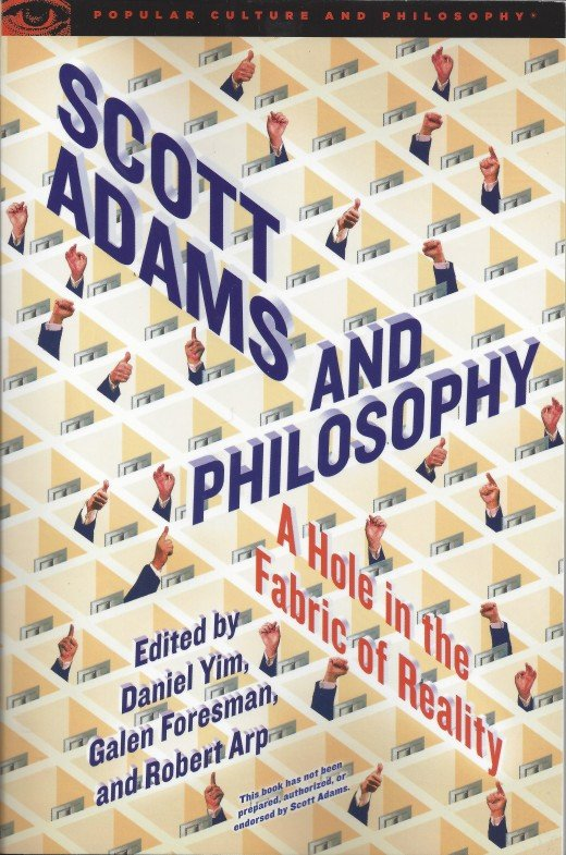 "The Cover of ""Scott Adams and Philosophy"""