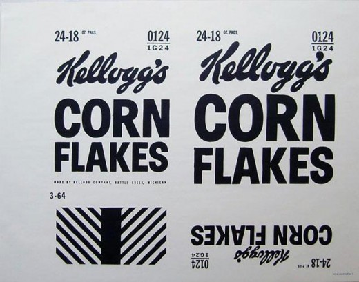 In 1906, Will Keith Kellogg founded the W. K. Kellogg Company to manufacture corn-flakes breakfast cereal.