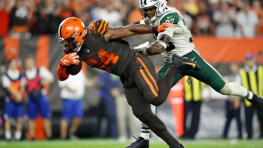 Carlos Hyde RB- Cleveland Browns