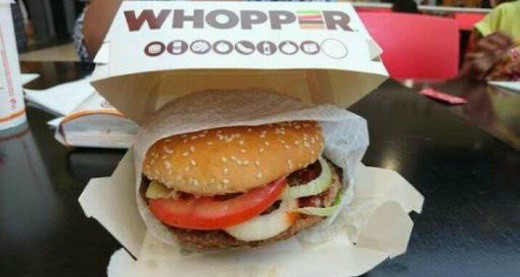 BURGER KING EXTREME WHOPPER!