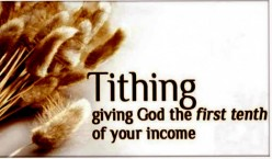 The Why of Tithing