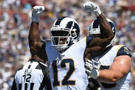 The Los Angeles Rams have won each of their first three games by at least ten points.