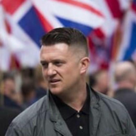 Former EDL Leader campainger:  Tommy Robinson.