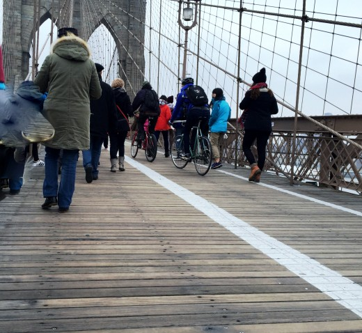 The Brooklyn Bridge is great any time of the year.