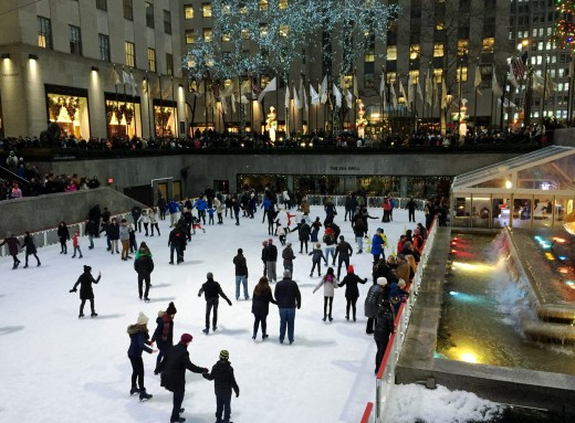 One of several skating rinks in the Big Apple.